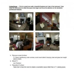 Home Staging Consultation and Report