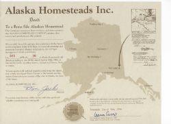 Alaskan Land Deeds - Promotional